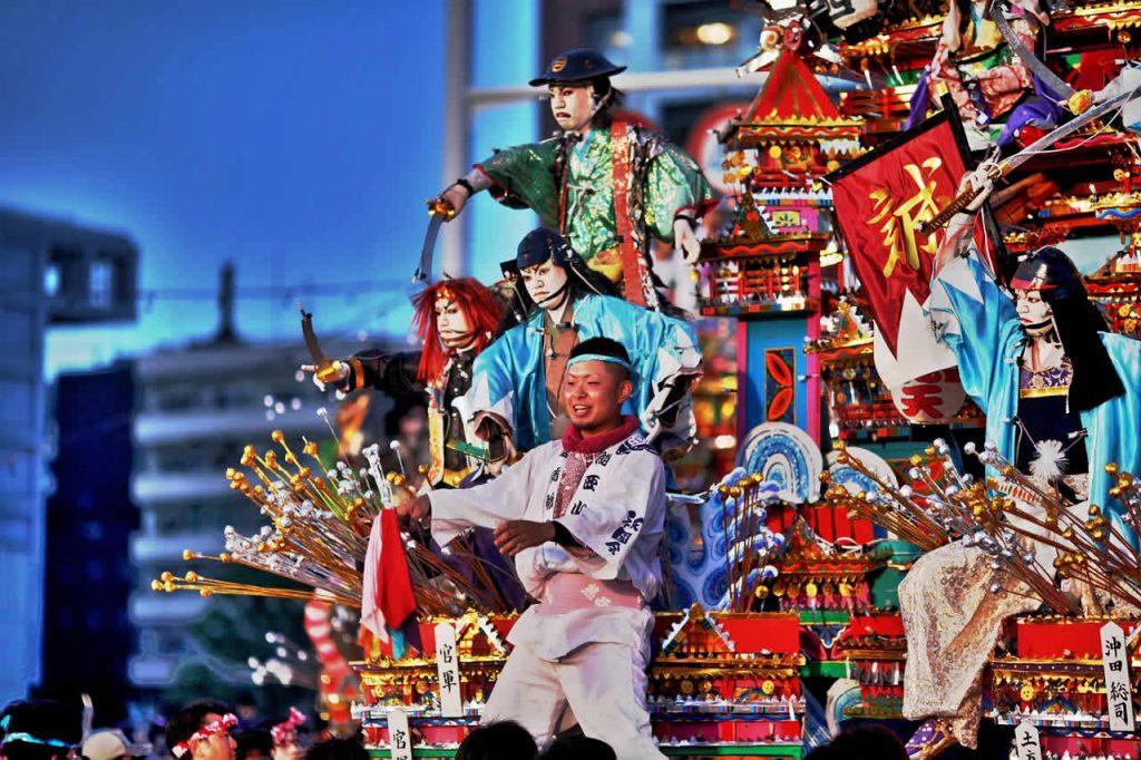 Festival de noel au Japon