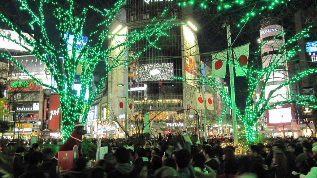 Noel a Shibuyaau Japon